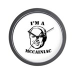 McCainiac Wall Clock