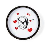 I heart McCain Wall Clock