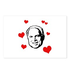 I heart McCain Postcards (Package of 8)