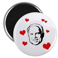 """I heart McCain 2.25"""" Magnet (10 pack)"""