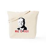 Mac is back Tote Bag