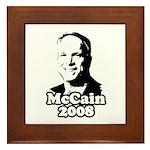John McCain 2008 Framed Tile