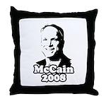 John McCain 2008 Throw Pillow