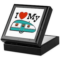 I Love My Trailer Keepsake Box