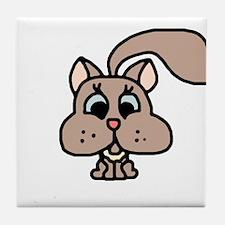 Cute Squirrel Tile Coaster