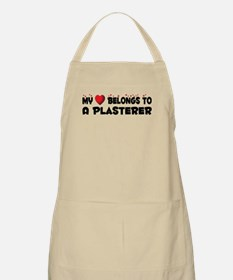 Belongs To A Plasterer BBQ Apron