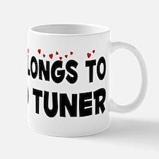 Belongs To A Piano Tuner Small Small Mug