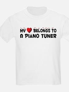 Belongs To A Piano Tuner T-Shirt