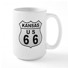 Kansas Route 66  Mug