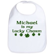 Michael - lucky charm Bib
