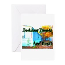 Backdoor Friends Are Best Greeting Cards (Package