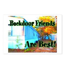 Backdoor Friends Are Best Postcards (Package of 8)