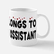 Belongs To A Physician Assistant Mug