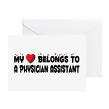 Belongs To A Physician Assistant Greeting Card