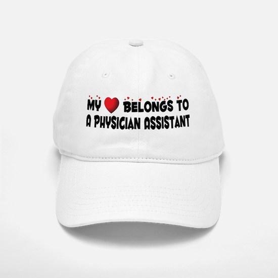 Belongs To A Physician Assistant Baseball Baseball Cap