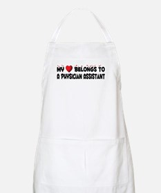 Belongs To A Physician Assistant BBQ Apron