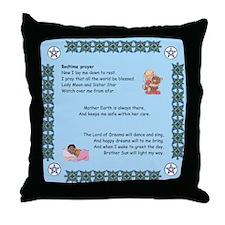Cute Pagan prayer Throw Pillow
