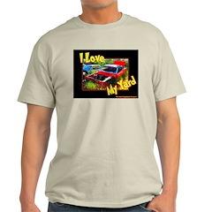 I Love My Yard Ash Grey T-Shirt