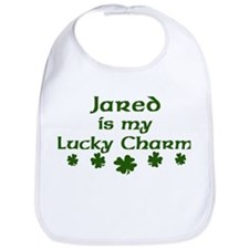 Jared - lucky charm Bib