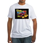 I Love My Yard Fitted T-Shirt