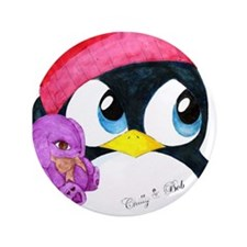 """Chilly & Bob"" 3.5"" Button"