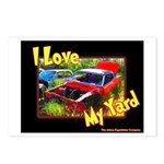 I Love My Yard Postcards (Package of 8)
