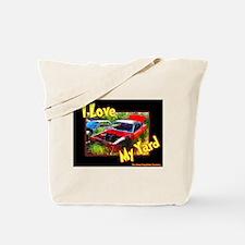 I Love My Yard Tote Bag