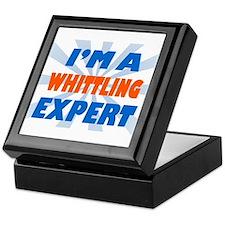 Im a whittling expert Keepsake Box