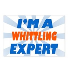 Im a whittling expert Postcards (Package of 8)