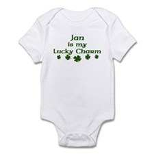 Jan - lucky charm Infant Bodysuit