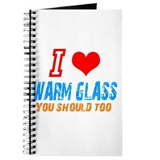 Cute Warm glass Journal