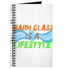 Cool Warm glass Journal