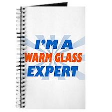 Funny Warm glass Journal