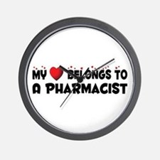 Belongs To A Pharmacist Wall Clock