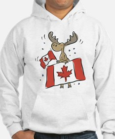 Canada Day Moose Hoodie
