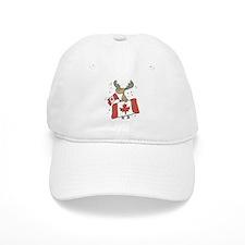 Canada Day Moose Baseball Cap