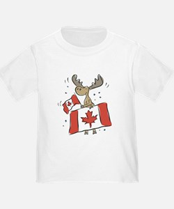 Canada Day Moose T