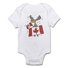 Canada Day Moose Infant Bodysuit