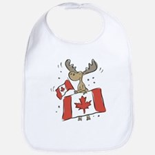 Canada Day Moose Bib
