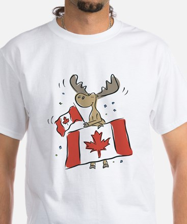 Canada Day Moose Shirt