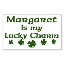 Margaret - lucky charm Rectangle Decal