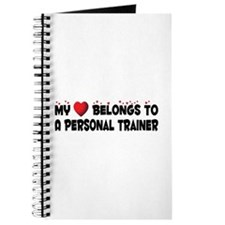 Belongs To A Personal Trainer Journal
