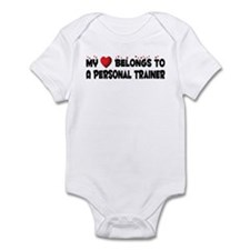 Belongs To A Personal Trainer Infant Bodysuit