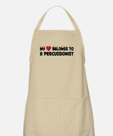 Belongs To A Percussionist BBQ Apron