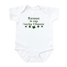 Renee - lucky charm Infant Bodysuit