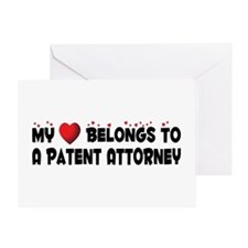 Belongs To A Patent Attorney Greeting Card