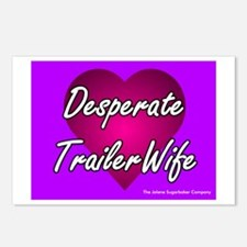 Desperate Trailer Wife Postcards (Package of 8)