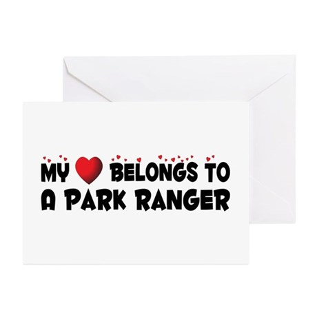 Belongs To A Park Ranger Greeting Cards (Pk of 10)