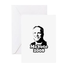McCain: McVote 2008 Greeting Card