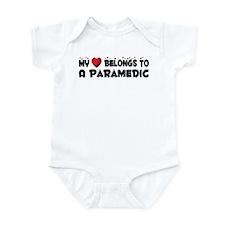 Belongs To A Paramedic Infant Bodysuit